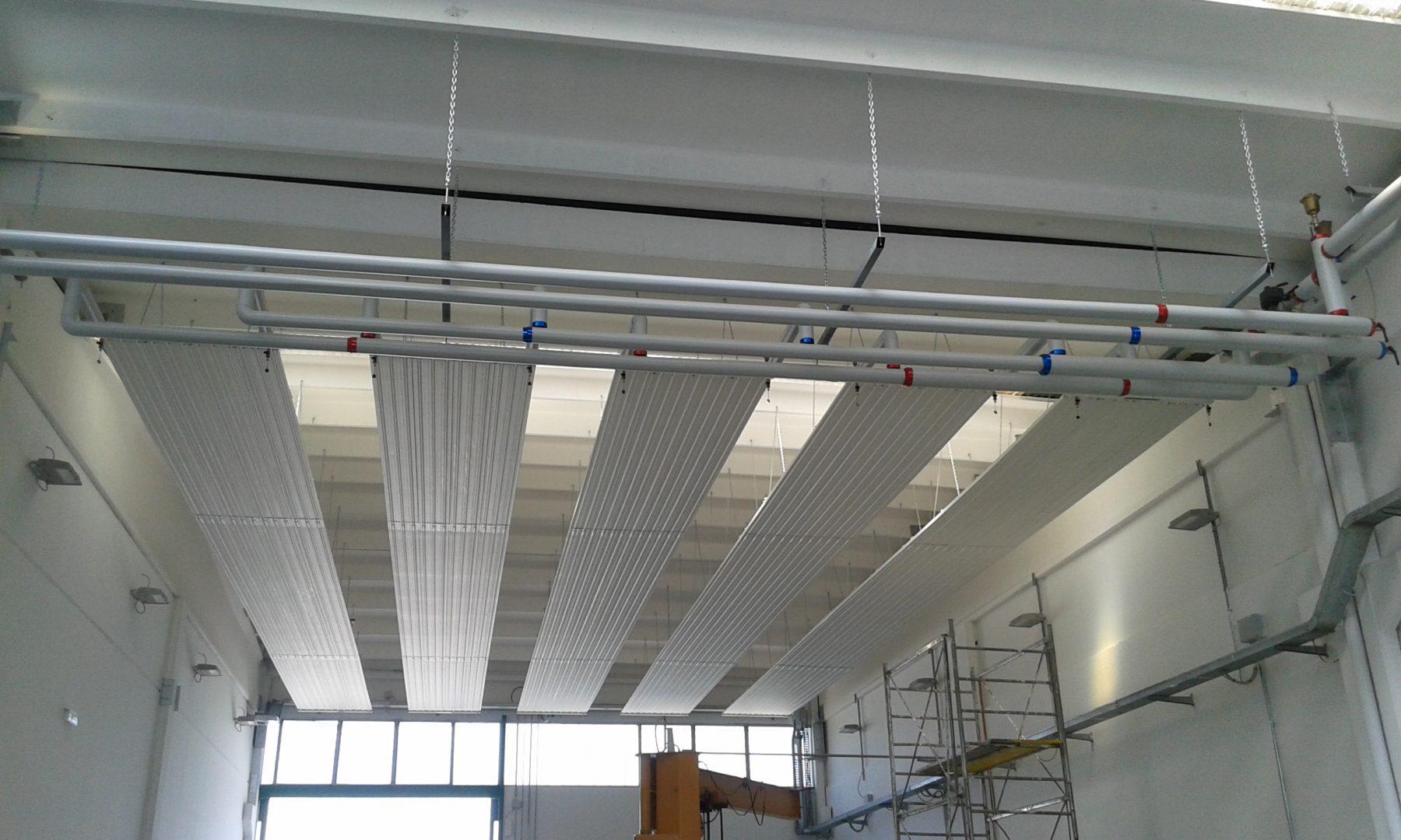 Ristrutturazione impianto termico in capannone artigianale
